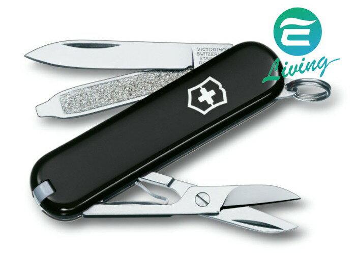 VICTORINOX 基本款7種用途瑞士刀 黑 #0.6223.3