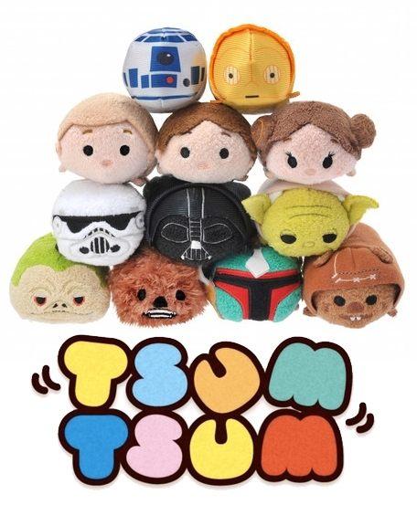 直送 迪士尼 Disney TSUM TSUM Star Wars 星際大戰系列 ^(^(