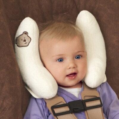 美國【Summer】可調適寶寶頭部保護枕(粉/米) 0