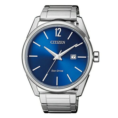 CITIZEN簡約風格三針光動能時尚腕錶BM7411-83L