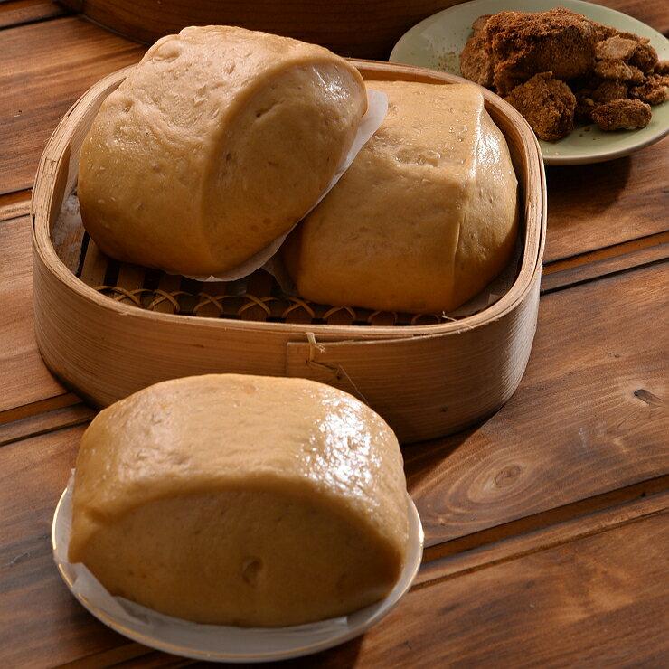 【開心手工饅頭包子】黑糖饅頭 1包5入 {每顆約135g±7g}-全館消費滿2000元免運!
