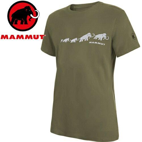 Mammut長毛象登山排汗衣領短袖運動T恤登山健行路跑野跑AegilityT-Shirt亞版男款1017-100614584綠鬣蜥