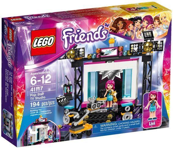 ~LEGO 樂高積木~Friends 好朋友系列 ~ 明星電視工作室 LT~41117