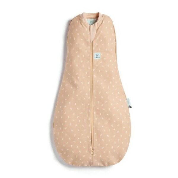 【全品牌任兩件贈三角圍兜】ergoPouch airCocoon 竹纖維二合一舒眠包巾-香草橙 (0~12m) 懶人包巾