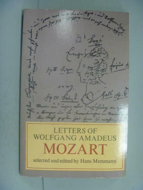 ~書寶 書T1/原文小說_LEF~Letters of Wolfgang Amadeus
