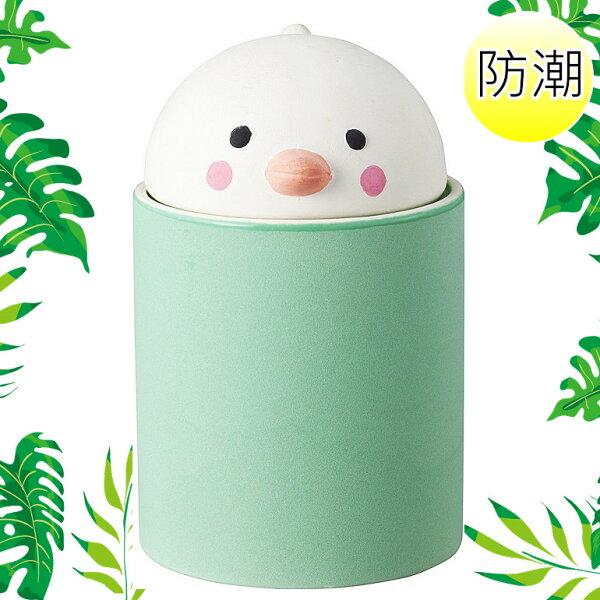日本SUNART防潮調味罐陶罐(綠)