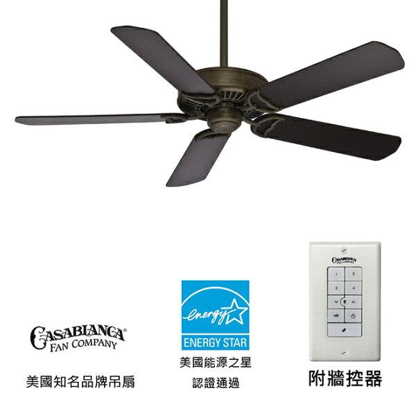 美國知名品牌吊扇專賣店:[topfan]CasablancaPanamaControl52英吋能源之星認證吊扇(55029)暗銅色