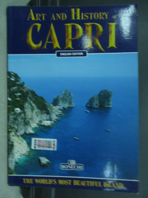 【書寶二手書T4/藝術_PPS】Art and history of capri
