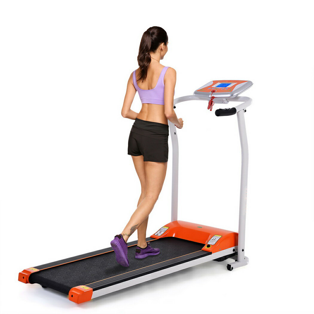 Ancheer Mini Folding Electric Running Training Fitness Treadmill 2