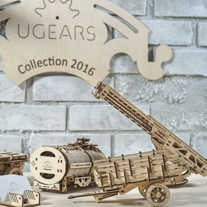 Ugears 自我推進模型 (Additions for Truck UGM-11卡車改造配件) 3