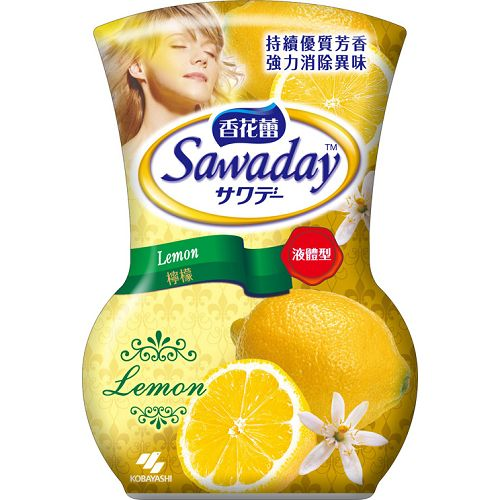 香花蕾液體芳香劑-檸檬香350ml【愛買】