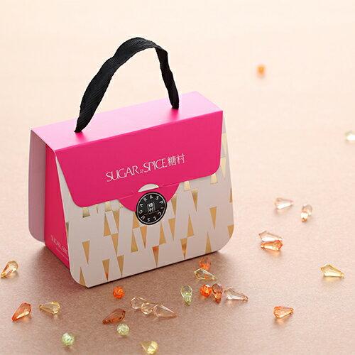 【糖村SUGAR & SPICE】光芒喜糖盒-法式牛軋糖 112g