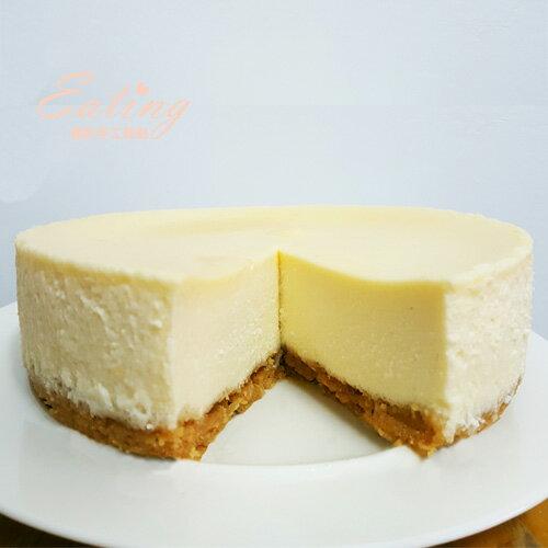 【原味重乳酪蛋糕6吋】無多餘添加 自製杏仁餅乾底 用料實在