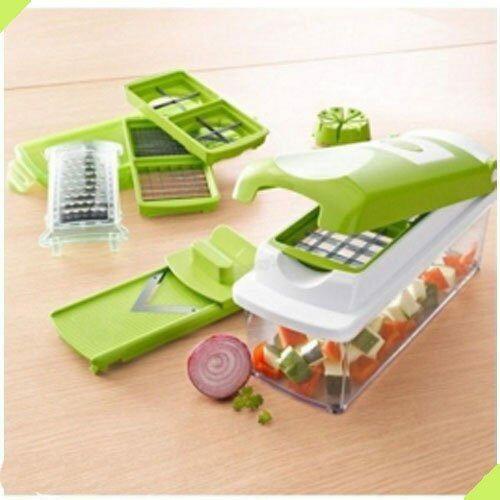 廚房多功能 切菜器 削皮刀 土豆刨絲器 切片機 水果切粒器 切塊工具