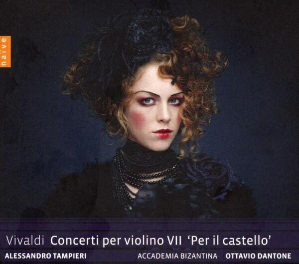 【停看聽音響唱片】【CD】韋瓦第:小提琴協奏曲第七號 (城堡)