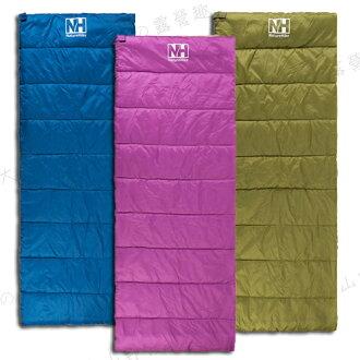 【露營趣】中和安坑 NatureHike H-150 超輕12度睡袋 信封型睡袋 纖維睡袋 化纖睡袋