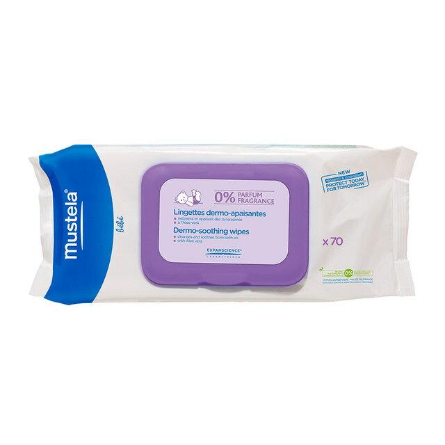 【Mustela 慕之恬廊 】多慕賦活(無香)頂級淨膚棉(70張/包) 0