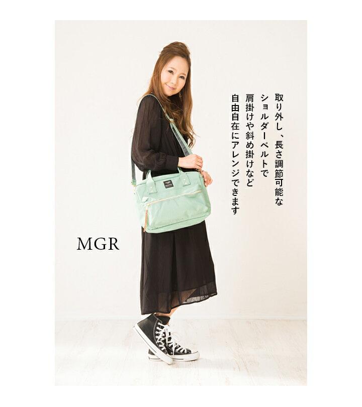 日本anello  /  2way / 方型手提肩背兩用背包 / 聚酯纖維 / AT-C1224。共7色-日本必買 日本樂天代購(3500*0.6) 2