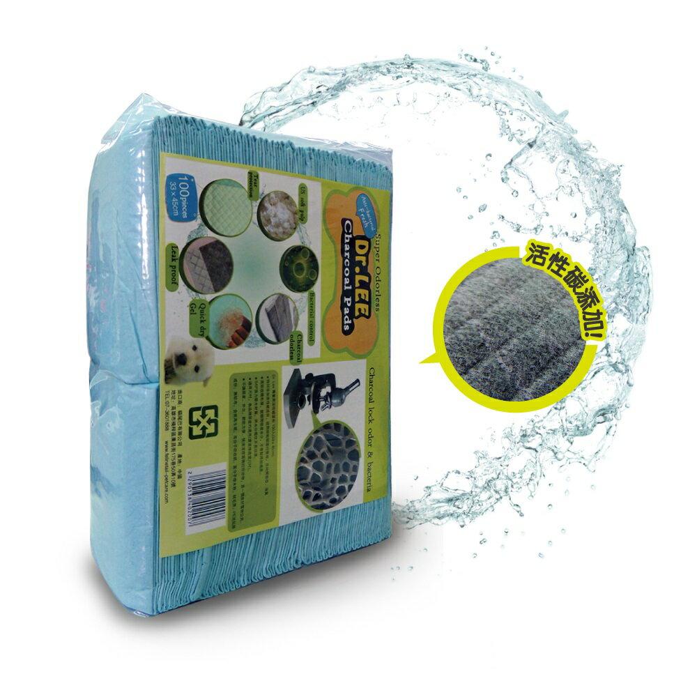 Dr. Lee 專業用活性碳尿布  寵物尿布墊  100入(30*45cm) 單筆超取限3包 (H003A11)  好窩生活節 1