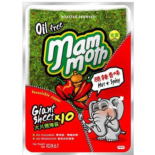 mammoth象泰式烤海苔~酷辣香味60g~愛買~