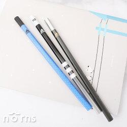 【日貨原木鉛筆Adidas x Uni】Norns 日本三菱鉛筆 愛迪達聯名款 六角軸 HB 1B 日本製 數量限定 進口文具