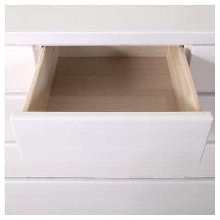 ◎(OUTLET)矮整理衣櫃 斗櫃 OUKA2 120LC WH 福利品 NITORI宜得利家居 7