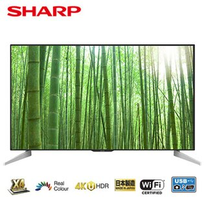 【SHARP夏普】70吋4K日本原裝智慧連網液晶電視LC-70U33JT(含配送含安裝)
