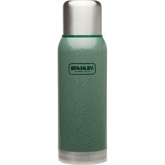 ├登山樂┤ 美國 Stanley 冒險系列真空保溫瓶 1L - 錘紋綠 #10-01570-GN
