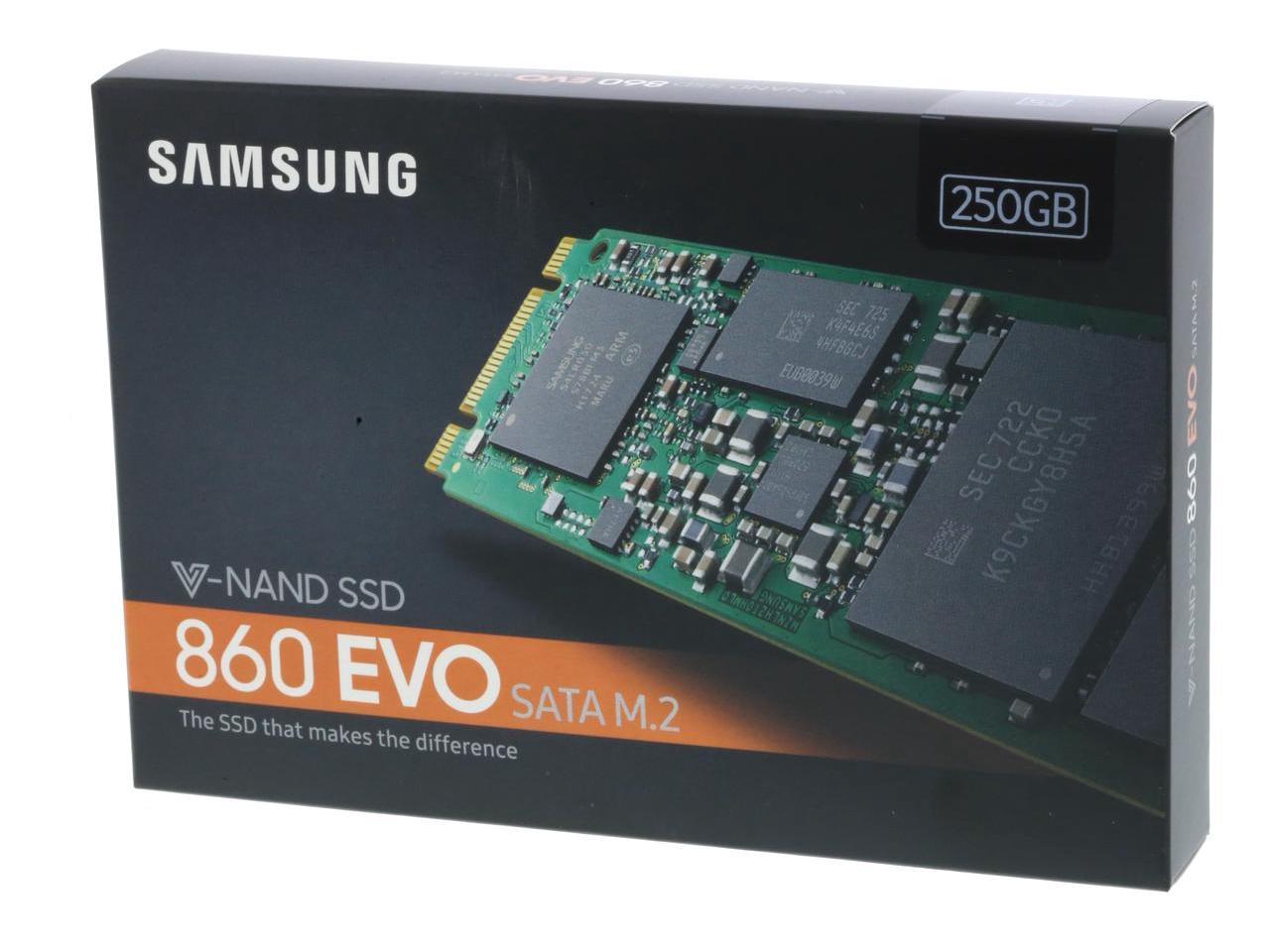 SAMSUNG SSD 860 EVO Series M.2 2280 250GB 250G SATA III 3D NAND Internal