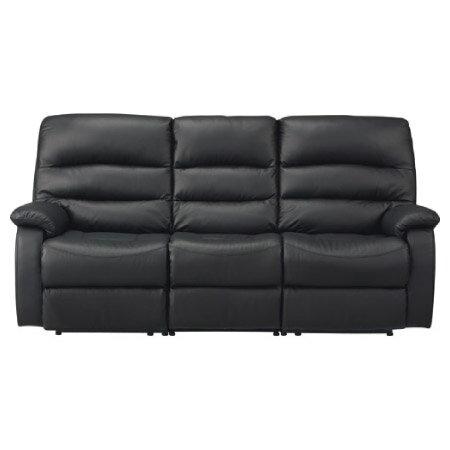 ◎全皮3人用頂級電動可躺沙發 BELIEVER2 BK NITORI宜得利家居 3