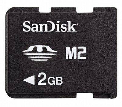Sandisk M2 2G記憶卡Memory Stick Micro 2GB 記憶卡 保固三個月