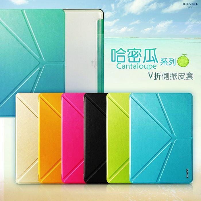 Samsung Galaxy Note10.1 2014 特仕版 P6050 (4G LTE版)/P6000 P600 (16G WIFI 版) 哈密瓜系列 智能V折休眠保護套/側掀皮套/保護殼/皮套