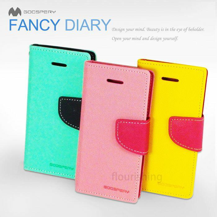 韓國Mercury  Goospery MIUI Xiaomi 紅米機 雙色側翻可立式皮套