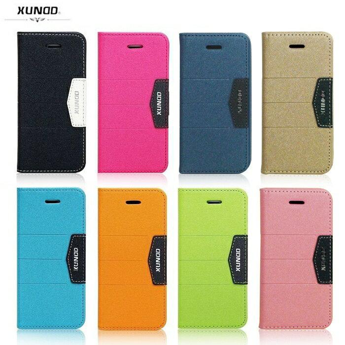 XUNDD Apple iPhone 5S/SE 芒果系列 磨砂紋皮套/保護套/側掀皮套/保護殼/手機套