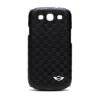 Mini Cooper SAMSUNG Galaxy S3 i9300 原廠正品 菱格紋真皮背蓋/菱格紋/保護套/保護殼/真皮/正品