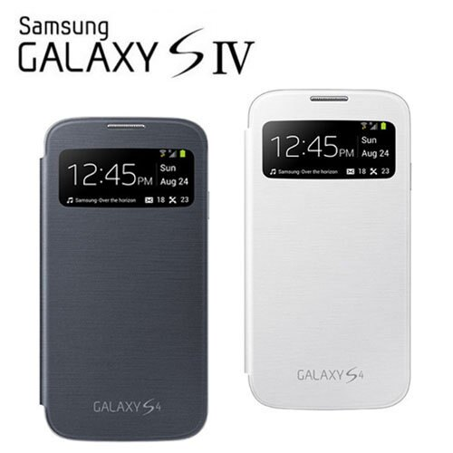 SAMSUNG GALAXY S4 (S IV) i9500 S View 原廠透視感應皮套/原廠皮套/保護套/東訊公司貨
