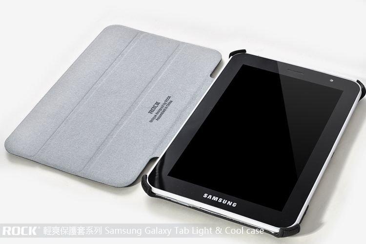 ◎ROCK 洛克◎ SAMSUNG GALAXY Tab2 P3100 7.0吋/Galaxy Tab 7.0 Plus P6200 清爽 紋系列保護皮套/支架皮套/側開/翻蓋/保護套
