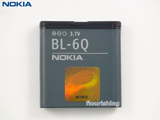 NOKIA 原廠電池【BL-6Q】6700C