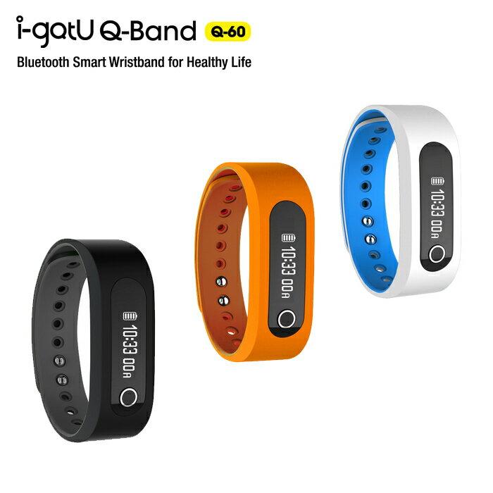 i-gotU Q-60 Q-Band 藍牙4.0 智慧健身手環/藍芽手環/HTC Desire 610/816/820/EYE/M7/M8/Butteryfly 2/One mini/Apple/iPhone 4S/5/5S/5C/6/6 Plus/iPad/Air/Mimi/touch