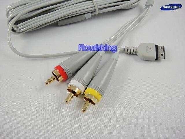 Samsung i908 原廠TV OUT傳輸線/原廠視訊線/視頻線 F488/G808/i908/U908