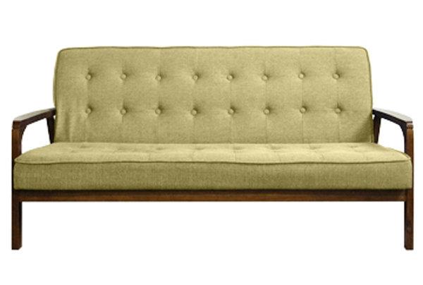 生活大發現-木田三人沙發/造型椅/餐椅/洽談椅/布沙發/造型沙發/沙發椅/此為綠色下標區