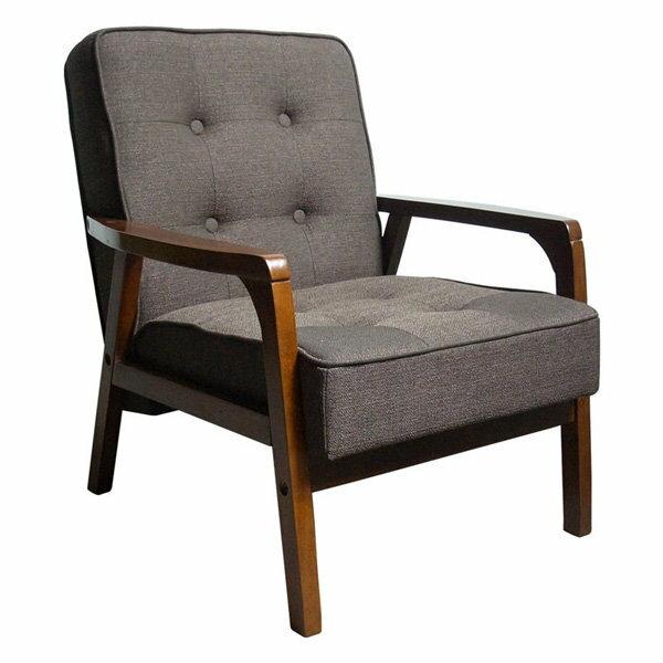 生活大發現-木田單人沙發/造型椅/餐椅/洽談椅/布沙發/造型沙發/沙發椅/此為棕色下標區
