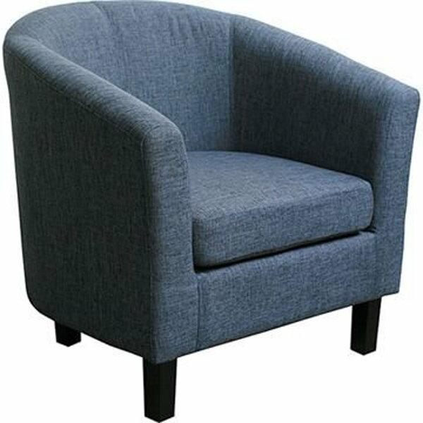 大發現~ 家 亞柏特單人沙發 布沙發 沙發 沙發椅 此為藍色 區 ~  好康折扣