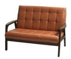 生活大發現-卡特雙人沙發/休閒椅/皮沙發/咖啡