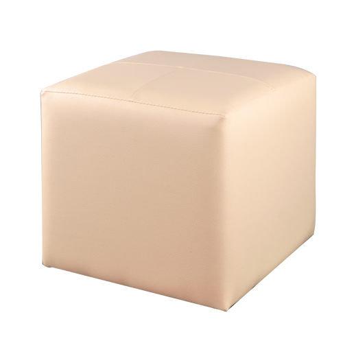 生活大發現-(白) 亮彩四方椅/沙發/和室椅/腳凳/單人沙發/皮沙發/沙發矮凳/台灣製造/八色可選