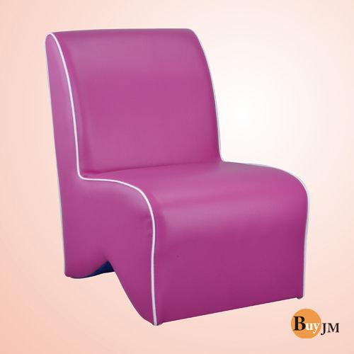 生活大發現-莎菲大造型椅(紫)/單人沙發/沙發矮凳/皮沙發