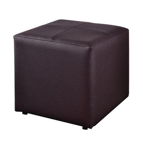 生活大發現-亮彩四方椅八色可選(黑咖啡) 單人沙發/和室椅/腳凳/台灣製造
