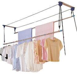 CB003-1 雙桿式升降曬衣架(含桿) 基本型 二桿式 拉繩曬衣架 會煞車 窗簾式省力曬衣架 晒衣架 衣架