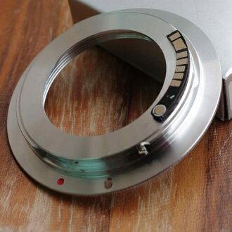 又敗家@天涯Tinaya M42轉EOS電子轉接環(有檔板合焦嗶嗶聲,M42鏡頭轉接至佳能Canon相機EOS機身即EF接環EF-s接環)M42-EOS電子轉接環 M42鏡頭轉EOS晶片轉接環 M42..