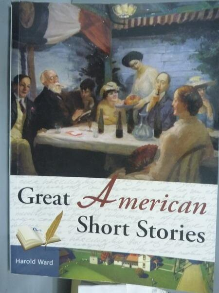【書寶 書T3/原文小說_QFN】Great American Short Stories